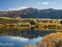 "Coronet Peak from Lake Hayes in Autumn - 16"" x 20"" Limited Time Only"